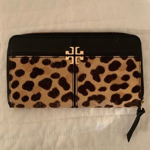 Tory Burch Leopard Wallet